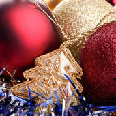Juguetes de navidad — Foto de Stock