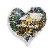 Jul hjärta — Stockfoto
