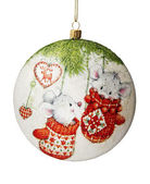 Christmas decoration. Christmas ball. — Zdjęcie stockowe