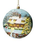 Christmas decoration. Christmas ball. — Stock Photo