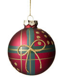 Christmas decoration. Christmas ball. — Stok fotoğraf