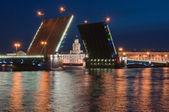 Il ponte disegnato — Foto Stock