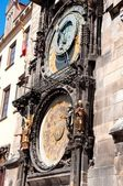 Clock in prague — Stock Photo