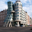 Dancing house building - Stock Photo