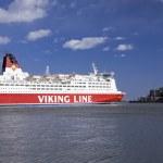 Viking line veerboot — Stockfoto