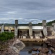 View of a hydroelectric power station dam — Stock Photo