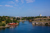 View of Suomenlinn's fortress in the summer day — Stock Photo