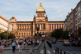 Nationalmuseet i prag — Stockfoto