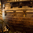 STOCKHOLM - JULY 24: 17th century Vaswarship salvaged from seat museum in Stockholm — Stock Photo #38867763