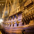 STOCKHOLM - JULY 24: 17th century Vasa warship salvaged from sea at museum in Stockholm — Stock Photo