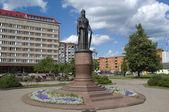 Monument Great Princess Olga Equal to the Apostles. Pskov — Stock Photo