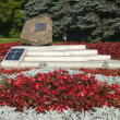 Stock Photo: Memorial - Memorial to victims of Nazi terror in Pskov