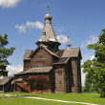 Church of Nativity 1531. Vitoslavlitsy Veliky Novgorod Russia — Stock Photo