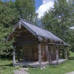 Chapel 1698. Vitoslavlitsy Veliky Novgorod Russia — Stock Photo #13867192