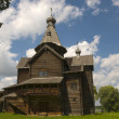 Stock Photo: Church of Nativity 1531. Vitoslavlitsy Veliky Novgorod Russia