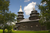 Church of St. Nicholas in 1767. Vitoslavlitsy Veliky Novgorod — Stock Photo