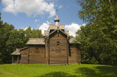 Church of St. Nicholas in 1642. Vitoslavlitsy Veliky Novgorod — Stock Photo