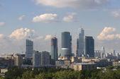 古いものと新しいモスクワ — ストック写真