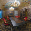 Interior office in the palace of Prince Volkov-Yusupov, Moscow — Stock Photo