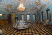 Interior Volkov-Yusupov Palace in Moscow. Armorial Hall — Stock Photo