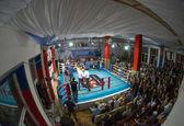 Thai boxing fight club Osminog — Stock Photo