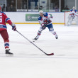 Hockey match CSKA-LEV PRAHA - Stock Photo