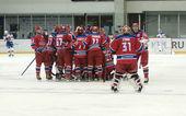 CSKA celebrates victory — Stock Photo