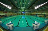 Swimming Pool Sports Complex Olimpiyskiy (Olimpiski) — Stock Photo