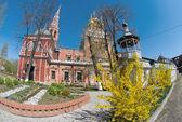 De opstanding kerk in kadashi sloboda is een grote naryshkin — Stockfoto