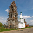 Постер, плакат: The Church of the Holy Great Martyr Nikita built in the second
