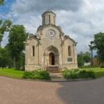 Spaso-Andronikov monastery. Spasskiy cathedral 15 the century — Stock Photo #27153863