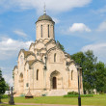Spaso-Andronikov monastery. Spasskiy cathedral 15 the century — Stock Photo #27154455