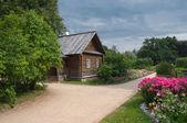 House-Museum of Alexander Pushkin. Manor Mikhailovskoe. Pushkin Hills — Stock Photo