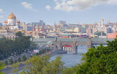 City landscape Moscow — Stock Photo