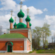 Pereslavl, Alexander Nevsky Church Year built: Between 1740 and — Stock Photo