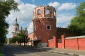 Tower and The Gate Church — Stock Photo