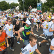 Mass race Adidas energy run — Lizenzfreies Foto