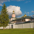 Russian orthodox church. Iversky monastery in Valdai, Russia. — ストック写真