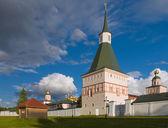 Russian orthodox church. Iversky monastery in Valdai, Russia. — Stock Photo