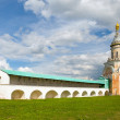 Candle tower, Borisoglebsky monastery, the town of Torzhok, Tver — Stock Photo