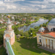 Torzhok. Tver region. Borisoglebsky monastery — Stock Photo #32658783