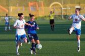 Women's football — Stock Photo