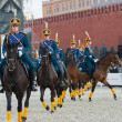 Постер, плакат: The Honor Cavalry Escort of the President