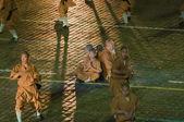 Monks of the Shaolin monastery (China) — Stock Photo