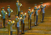 Orchestra recruits Finnish Defence Forces — Stock Photo