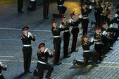 Orchestra of the Moscow Suvorov Military Music College — Stock Photo