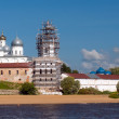 St. George's Monastery. Veliky Novgorod, Russia — Stock Photo #35999691