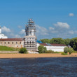 St. George's Monastery. Veliky Novgorod, Russia — Stock Photo #35999801