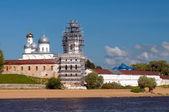 St. George's Monastery. Veliky Novgorod, Russia — Foto Stock