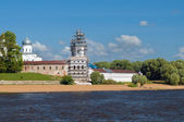 St. George's Monastery. Veliky Novgorod, Russia — Stock Photo